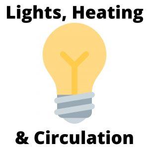Lighting, Heating, & Circulation